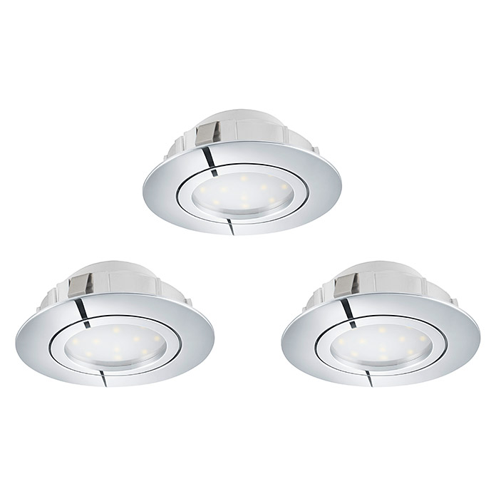 Tween Light LED-Einbauleuchten-Set  (Chrom)