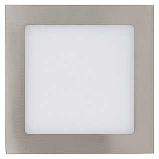 Tween Light LED-Einbauleuchte (10,9 W, Warmweiß, 170 x 170 mm, Nickel matt)