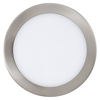 Tween Light Foco downlight LED empotrable (16,47 W, Blanco cálido, Diámetro: 225 mm, Níquel mate, Intensidad regulable)