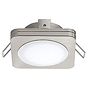 LED-EINBAUSPOT 82X82NICKEL-M.