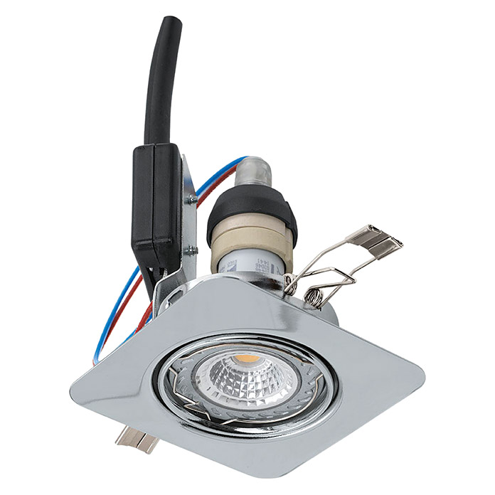 LED-EINBAUSPOT SET  3ER CHROM SCHWENKBARTWEENLIGHT