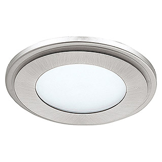 Tween Light LED-Deckenleuchte (12 W, Warmweiß, Durchmesser: 145 mm, Nickel matt)