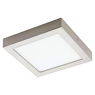 Tween Light Plafón LED Tinus (6 W, RGB, 225 x 225 mm, Níquel mate)
