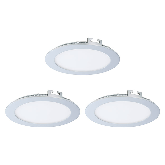 Tween Light LED-Einbauleuchten-Set Tinus (Chrom)