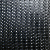 PVC JAVA ALLOVER    NOPPE SCHWARZ 200cm