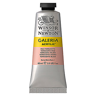 Winsor & Newton Galeria Acrylfarbe (Terracotta blass, 60 ml, Tube)
