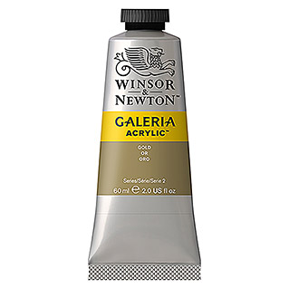 Winsor & Newton Galeria Acrylfarbe  (Gold, 60 ml)