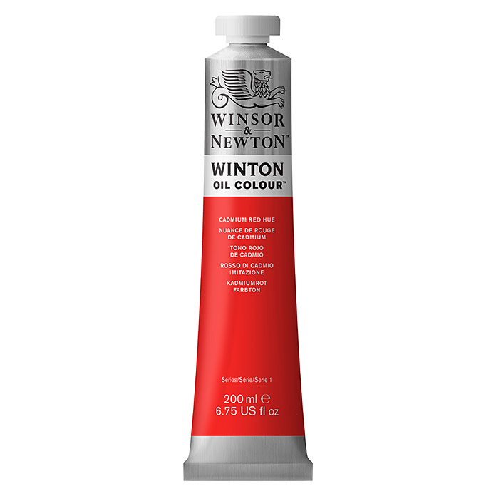 Winsor & Newton Winton Ölfarbe (Kadmiumrot, 200 ml, Tube) -