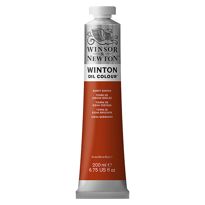 WINTON 200ml BURNT  SIENNA