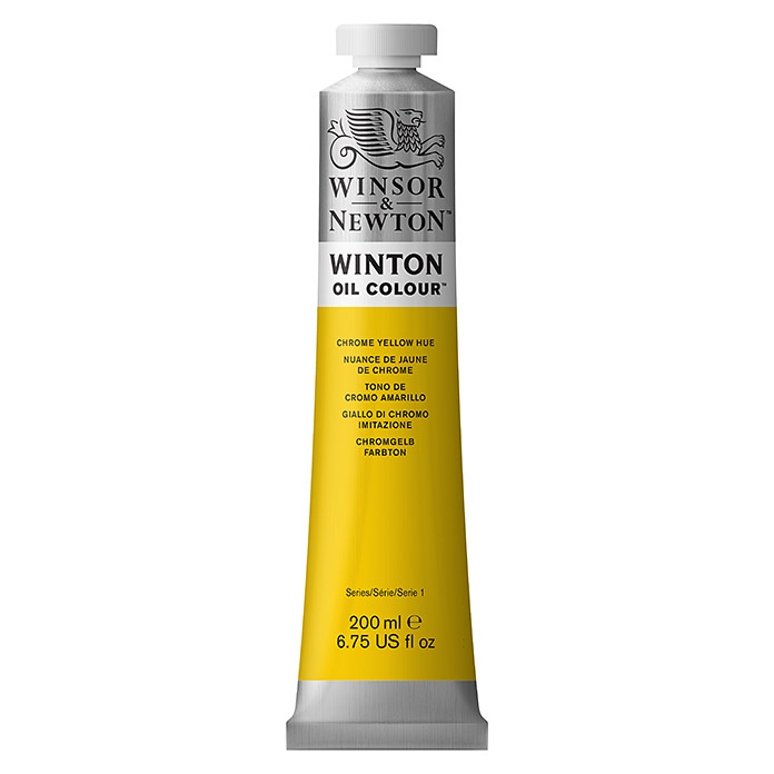 Winsor & Newton Winton Ölfarbe (Chromgelb, 200 ml, Tube) -