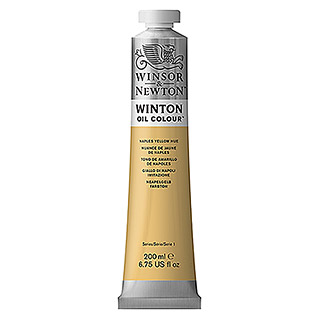 Winsor & Newton Winton Ölfarbe (Neapel Gelb, 200 ml, Tube)