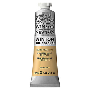 Winsor & Newton Winton Ölfarbe (Neapel Gelb, 37 ml, Tube)