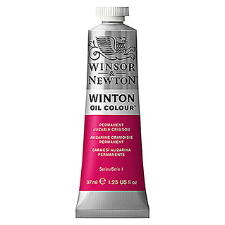 Winsor & Newton Winton Ölfarbe (Permanent Alizarinkarmesin, 37 ml, Tube)