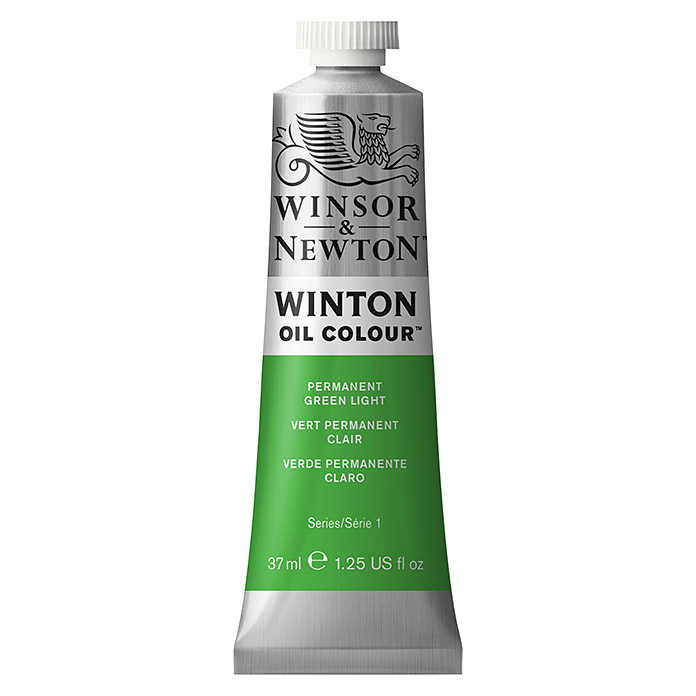 Winsor & Newton Winton Ölfarbe (Permanentgrün hell, 37 ml, Tube)