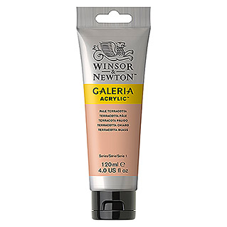 Winsor & Newton Galeria Acrylfarbe  (Terracotta blass, 120 ml)