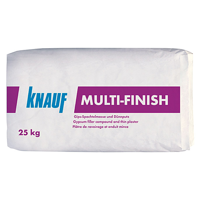 Knauf Spachtelmasse Multi Finish 25 Kg 5585 Grundputze Fade