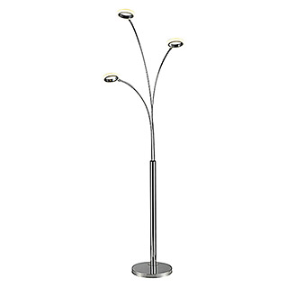 Tween Light LED-Stehleuchte Prado (3 x 5 W, Neutralweiß, Chrom, 203 cm)