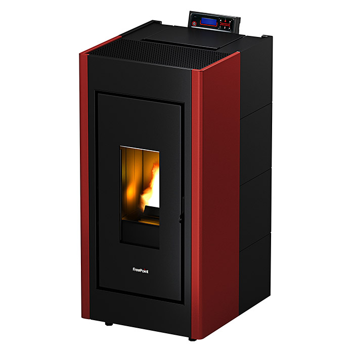FreePoint Pelletofen Verve Airtight (Bordeaux)