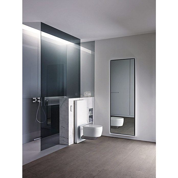 geberit monolith sanit rmodul f r wand wc 2 mengen sp lung 10 6 x 50 5 x 114 cm wei 4056. Black Bedroom Furniture Sets. Home Design Ideas