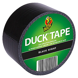 Duck Tape Kreativklebeband Rollen (Black Night, 9,1 m x 48 mm)