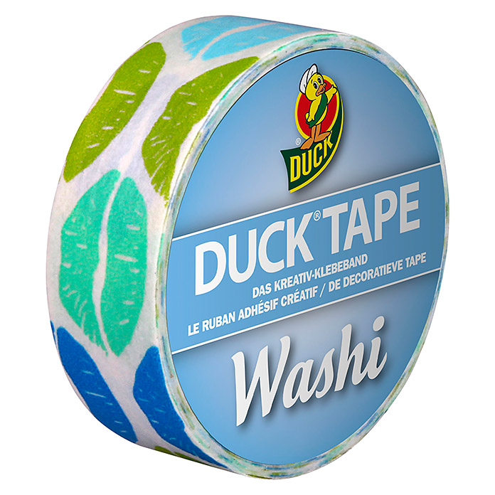 Duck Tape Kreativklebeband Washi (Aqua Kiss)