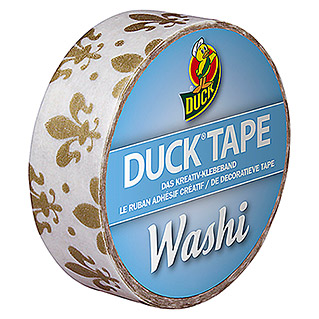 Duck Tape Kreativklebeband Washi (Golden Lily, 10 m x 15 mm)