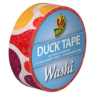 Duck Tape Kreativklebeband Washi (Ragbag, 10 m x 15 mm)