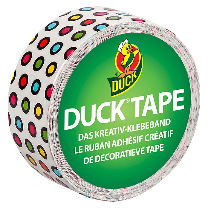 DUCKLING CANDY DOTS 19mmX4,5m             DUCKTAPE