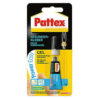 Pattex Sekundenkleber Power Easy  (3 g, Tube)