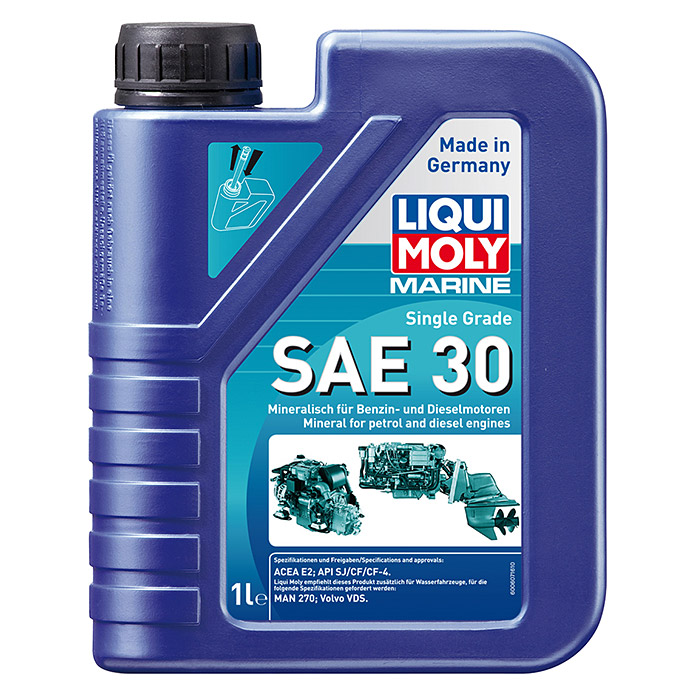 liqui moly marine motor l single grade sae 30 mineralisch. Black Bedroom Furniture Sets. Home Design Ideas