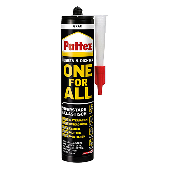 Pattex Montage-Kleber One for All (420 g, Grau)