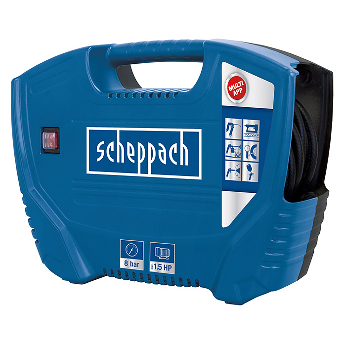 Scheppach Kompressor Air Force (1,1 kW/1,5 PS, 8 bar)