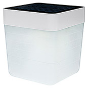 Lutec LED-Tischleuchte Table Cube (1-flammig, 1 W, Höhe: 12 cm, Weiß)