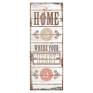 ProArt Type Hype Decopanel (Home is where your Heart is, 30 x 80 cm)