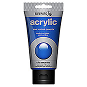 REEVES    ACRYLIC   ULTRAMARINBLAU 75ml