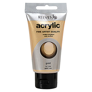 Reeves Acrylfarbe (Gold, 75 ml, Tube)
