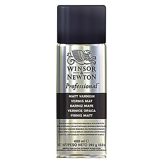 Winsor & Newton Firnisspray (400 ml, Matt, Spray)