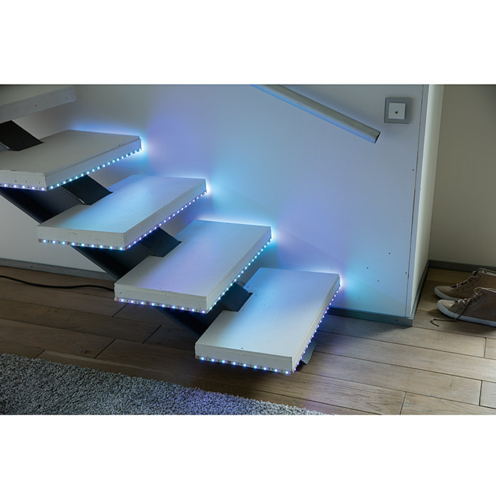 led band l nge 3 m farbwechsel rgb 16 w bauhaus sterreich. Black Bedroom Furniture Sets. Home Design Ideas