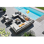 Sunfun Lounge-Element Verena (Grau, 87 x 162 x 65 cm)