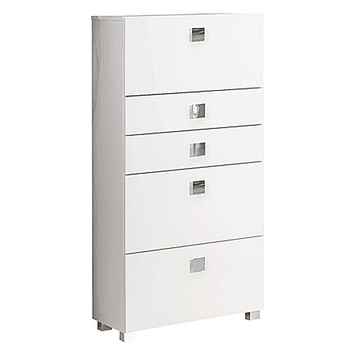 Schildmeyer Carree Highboard HBA650 (65 x 133,5 cm, 4 Standfüße)