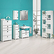 CARREE HIGHBOARD 65X133,5X34,4 cm WEISS