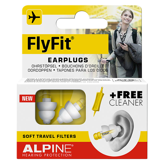 ALPINE    FLYFIT    INKL.     CLEANER