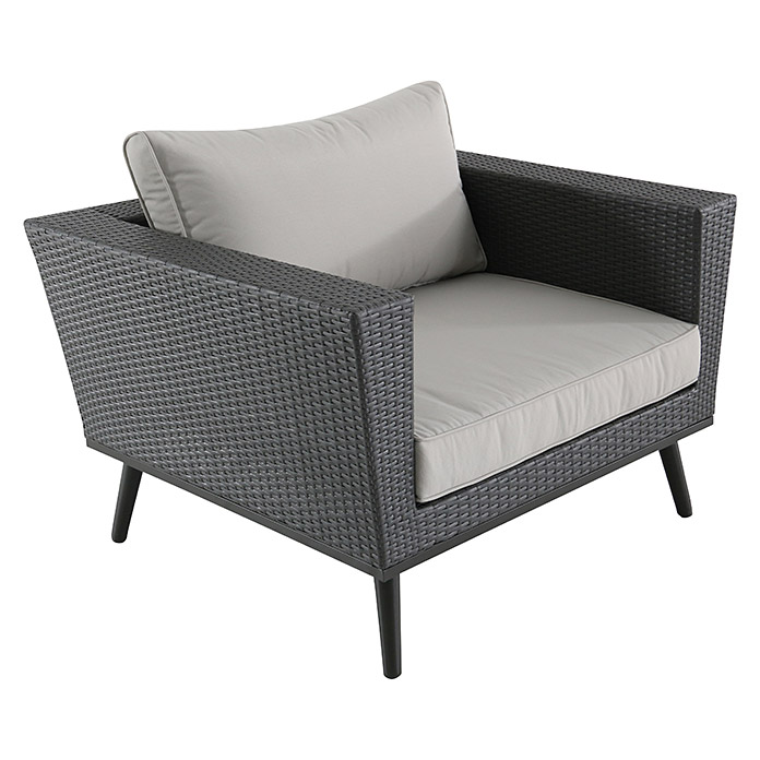 sunfun loungesessel verena breite 97 cm polyrattan bauhaus. Black Bedroom Furniture Sets. Home Design Ideas