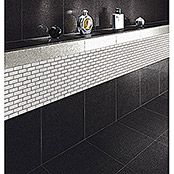 Mozaïektegel Brick Bond Diamond CBW 104 (30 x 30 cm, Wit, Glanzend)