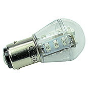 S-LED 15 10-30V     BAY15D ROT