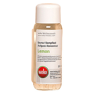 Weka Sauna- & Dampfbadduft (Lemon, 250 ml)