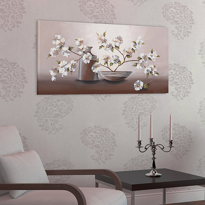 kunstdruck auf keilrahmen konventionel floral concept. Black Bedroom Furniture Sets. Home Design Ideas