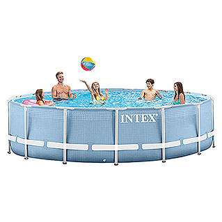 Intex Frame-Pool-Set Prism Rondo (Ø x H: 457 x 107 cm, 14.600 l)