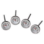 Kingstone Grill-Thermometer Set (4 Stk.)