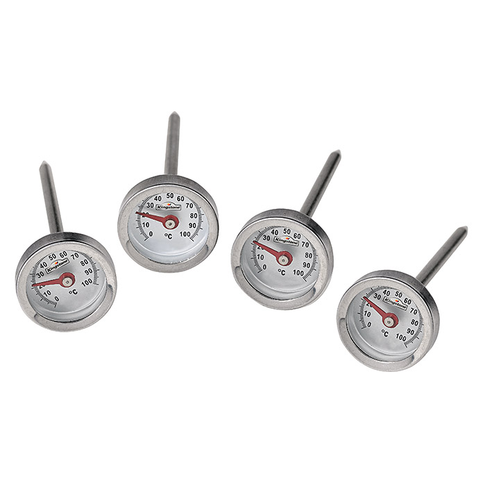 Kingstone Grill-Thermometer Set (4 Stk.) -